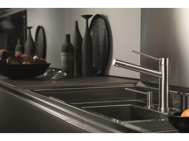 Miscelatore da cucina da piano monoforo con bocca girevole X-TREND KITCHEN | Miscelatore da cucina da piano
