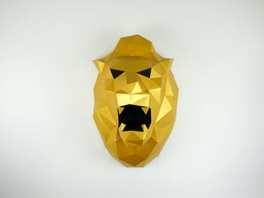Paper wall decor item XL LION