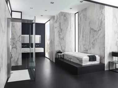 Rivestimento ultrasottile in gres laminato effetto marmo XLIGHT NVY