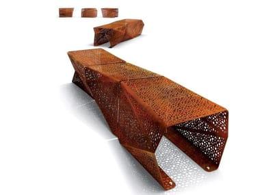 Panchina in acciaio zincato ZADIG