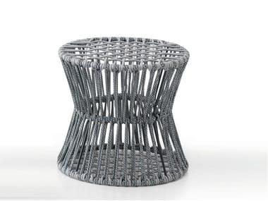 Puf de hierro de estilo moderno para jardín ZIGGY - CLESSIDRA | Puf