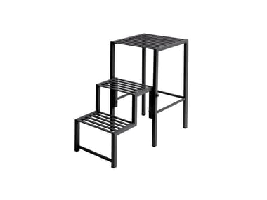 Folding steel step stools AERO | Step stools