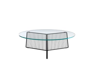 Tempered glass coffee table ANAPO