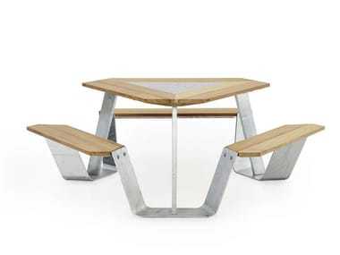 ANKER | Galvanized steel picnic table