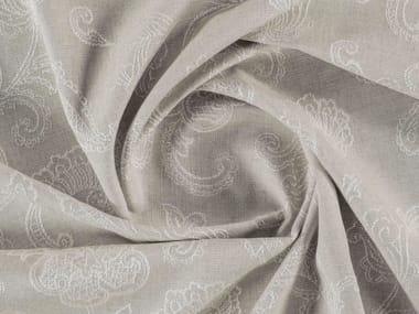 Tissu jacquard mat en viscose à motif floral ASHFORD