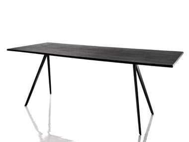Rectangular slate table BAGUETTE | Slate table