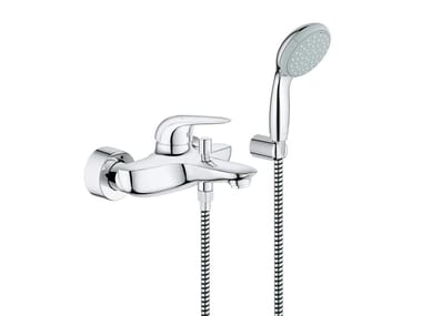 Miscelatore per vasca/doccia a muro monocomando EUROSTYLE NEW | Miscelatore per vasca con doccetta