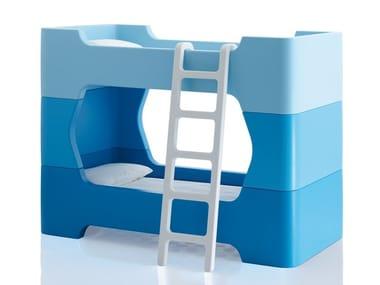 Stackable bunk bed for kids' bedroom BUNKY | Bed for kids' bedroom
