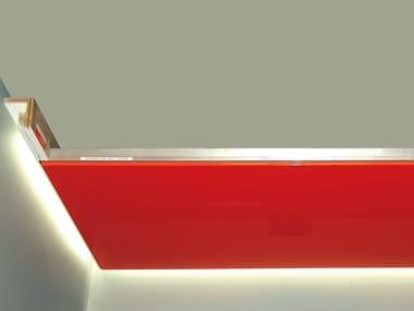 Profil de lumière linéaire en MDF CANALETTO TELO