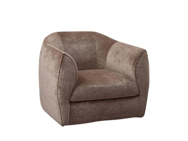 Armchair with removable cover CHARME | Armchair