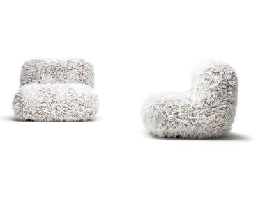 Fake fur sofa CHUMMY FRIZZY | Sofa