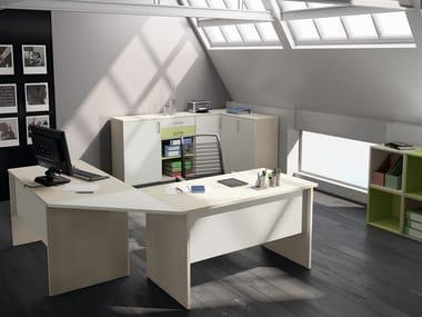 Bureau / armoire de bureau COMPOSITION 56
