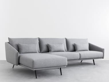COSTURA | Sofa with chaise longue Costura Collection By STUA design ...