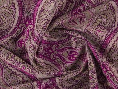 Tissu damassé jacquard lavable en polyester CREST