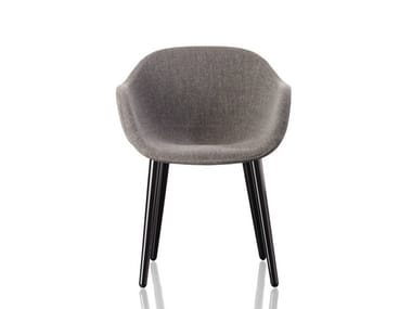 Upholstered fabric chair CYBORG LADY