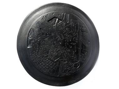 Ceramic sculpture DISK I