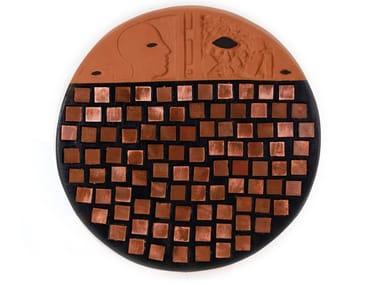 Ceramic sculpture DISK V