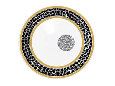Ceramic dinner plate DOCTRINE