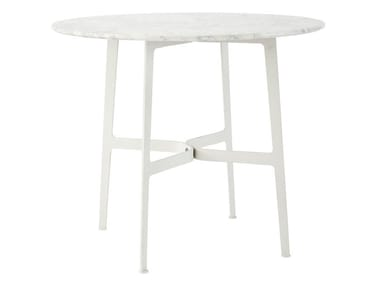 Round marble garden table EILEEN | Marble table