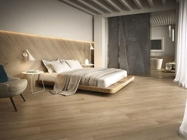 Porcelain stoneware wall/floor tiles with wood effect FABULA