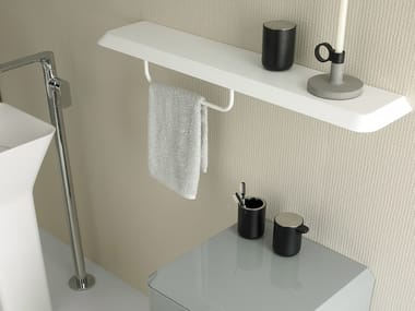 Toallero / estante para cuarto de baños FLUENT   Estante para cuarto de baños