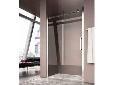 Cabina de ducha en nicho con puertas correderas FLUIDA FW