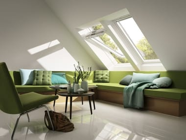 Centre-pivot Manually operated roof window GGU VELUX