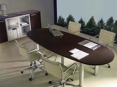 Mesa de reunión óvala GIOVE G26
