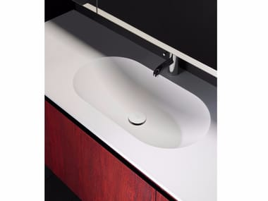 Encimera de lavabo de Solid Surface® H10 | Encimera de lavabo de Solid Surface®