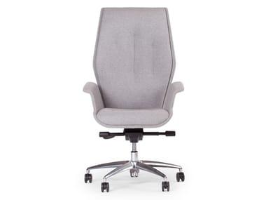 Poltrona ufficio direzionale con schienale alto HIVE | Poltrona ufficio direzionale con schienale alto
