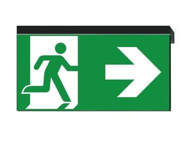 LED PETG emergency light for signage IKUS-P
