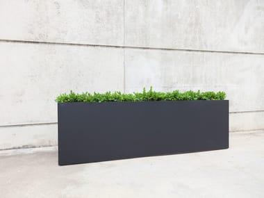 jardinera alta de hormign reforzado con fibra iota