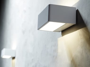 Aplique de baño LED de aluminio LAMP