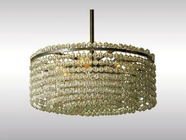Classic style crystal pendant lamp LANGENZERSDORF
