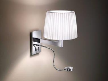 LED fabric reading lamp LEXA FL VERTICAL