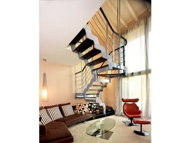 LOFT | Escalera abierta en forma de U