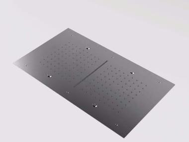 Soffione a cascata a soffitto con getto nebulizzato in acciaio inox MAE | Soffione a cascata
