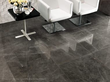 Porcelain stoneware flooring with marble effect MARVEL FLOOR | Porcelain stoneware flooring