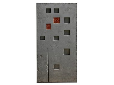 Cement sculpture METOPE I