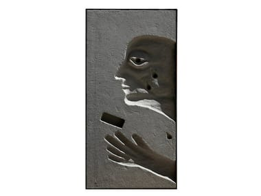 Cement sculpture METOPE II