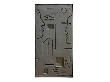 Cement sculpture METOPE III