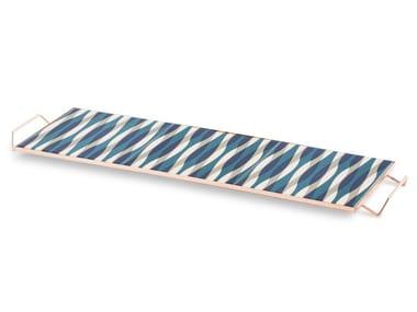 Bandeja rectangular de aluminio MIX&MATCH | Bandeja rectangular