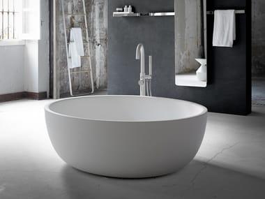 Bañera independiente óvala de Solid Surface® MOON