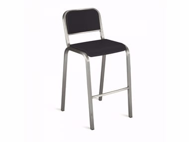 High stackable aluminium stool NINE-O™ | High stool