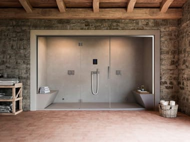 Italian steam shower cabin NONSOLODOCCIA | Italian shower cabin