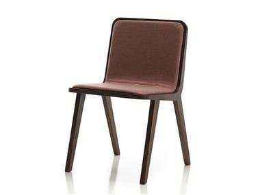 Chaise rembourrée en tissu NORDIC | Chaise