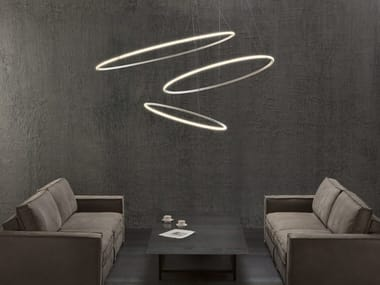 LED pendant lamp OLYMPIC F45 3x