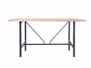 Rechteckiger Tisch aus massivem Holz ORIGIN