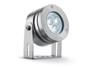 Spot d'extérieur LED orientable en acier inoxydable WATERAPP | Spot d'extérieur