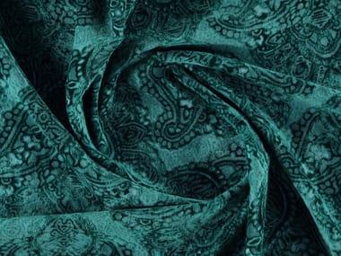 Tissu mat en velours à motifs graphiques PASADINA